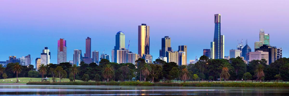 MFM Banner - Melbourne Skyline